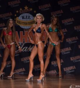 WFF / NABBA Bikini Fitness Model Posing Champion Kylie