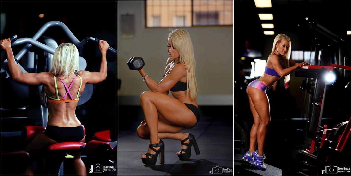 Nat kitney bikini fitness model posing coach danny de mello photgraphy 1
