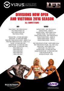 nat kitney fitness and bikini model posing coach melbourn ANB divisions 2016