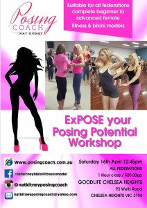 Expose your posing potential fitness photographer Nat kitney posing coach bikini fitness model posing coach melbourne competiting body building ANB INBA WFF NABBA IFBB AWNBS WNBF