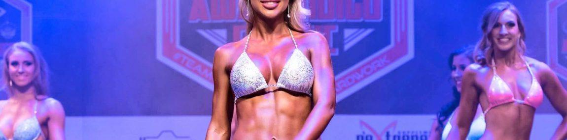 Bikini Model Posing ANB ICN IFBB WFF PCA INBA