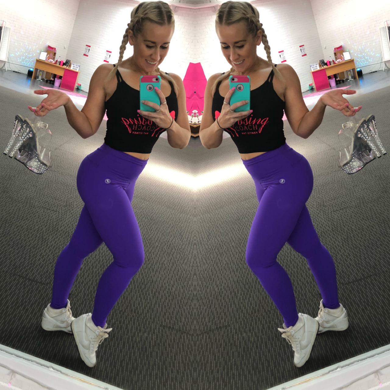 ICN Posing Coaching Figure Bikini Fitness Sports Models