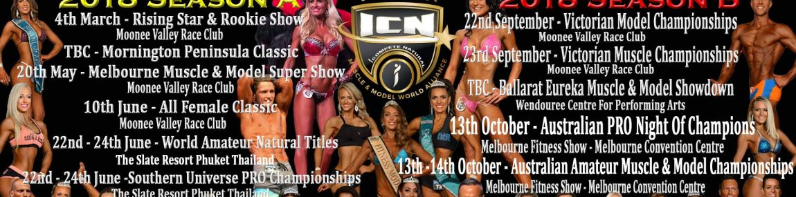 ICN Competition Dates 2018 Victoria