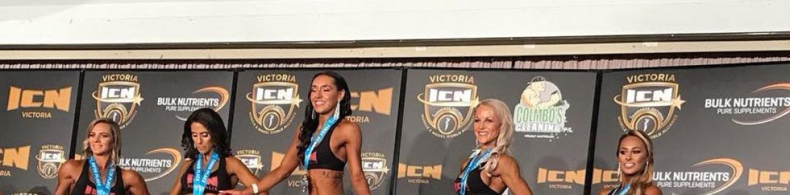 ICN Fitness Model First Timer First Place for Posing Client