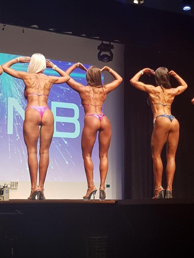 ICN Fitness Bikini Model Posing Coaching Quarter Turns V