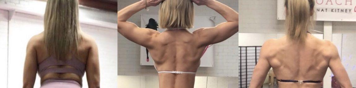 Bikini Fitness Figure Models Back Pose Posing Tips