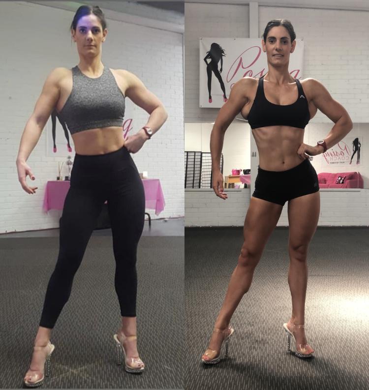 WBFF Posing Coaching Melbourne Bikini Figure Fitness Divas