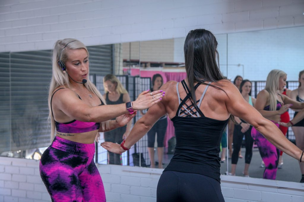 Learn how to pose as a fitness figure or bikini model for ICN