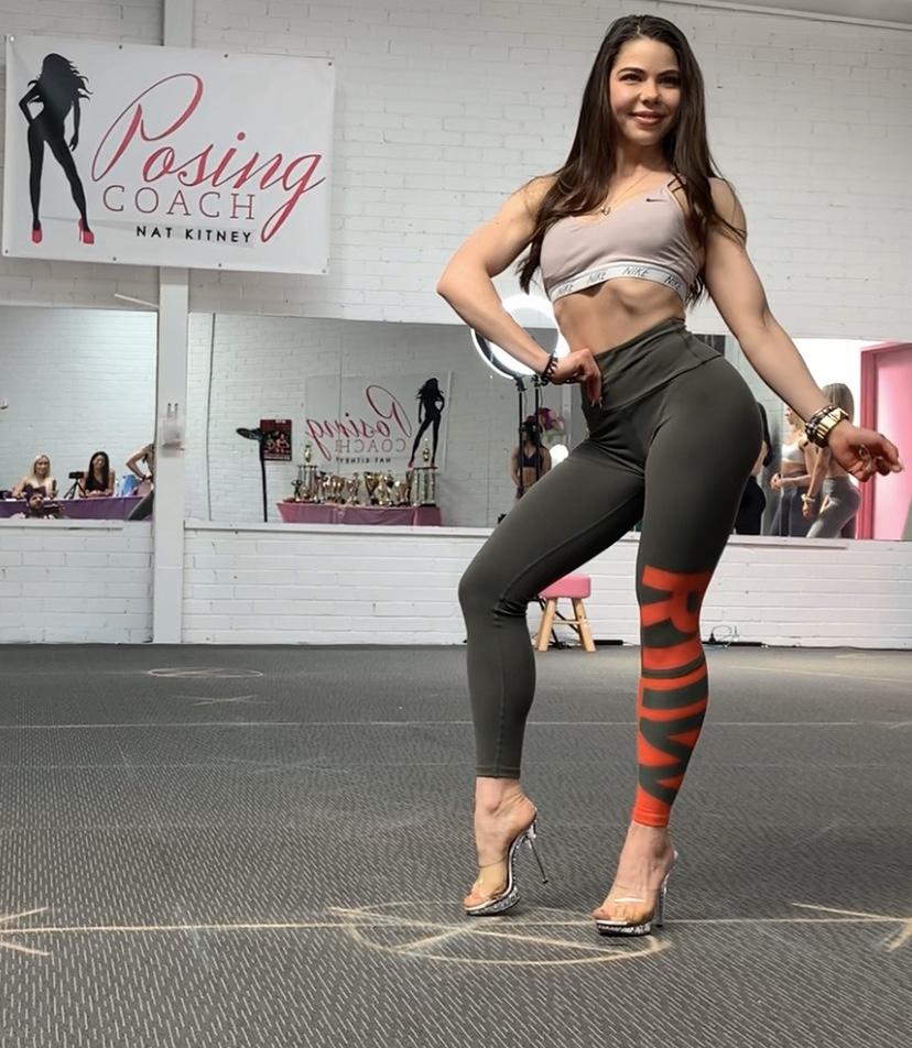 Bikini competitor Lisa Zah