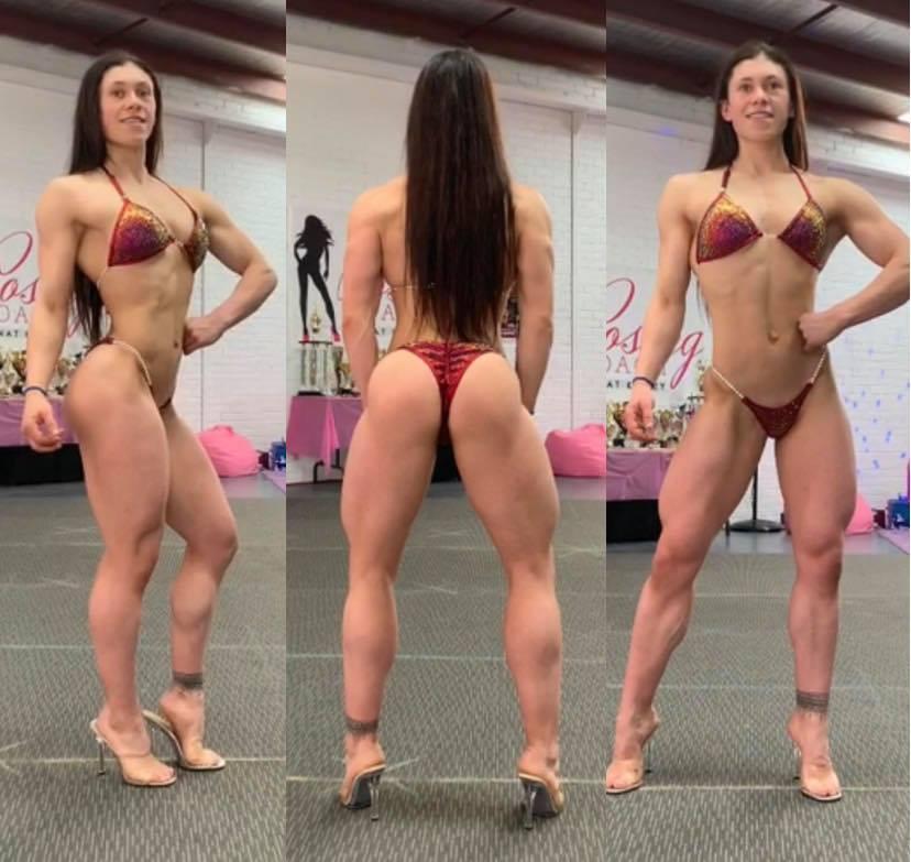 IFBB Wellness poses