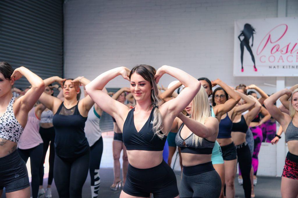 learning posing routine for inc new zealand