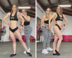 Sports model poses ICN tropic Queensland
