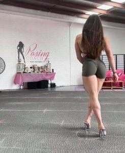 Wellness posing routine