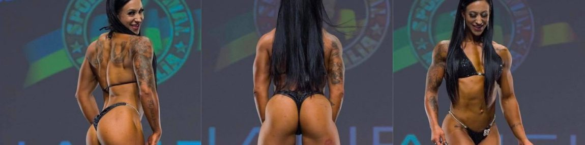 NPC IFBB Wellness Posing