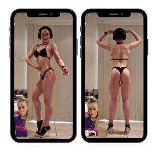 Online bikini posing in Brisbane