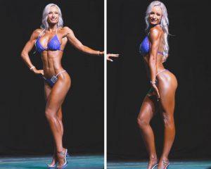 Icn fitness model posing